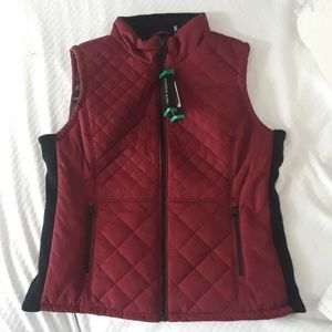 NWT Andrew Marc Quilted Vest